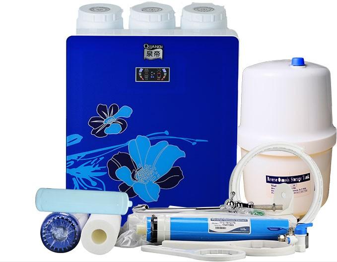 厂家提供泉帝厨下双水质自动反冲洗纯水机直饮机