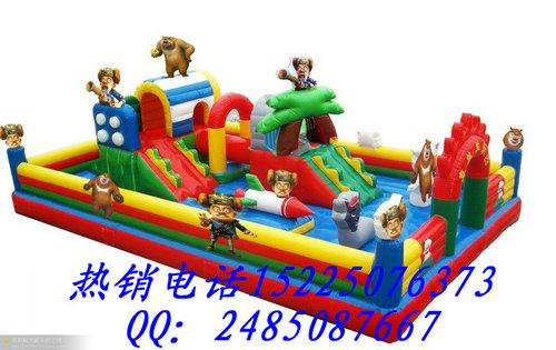 充气城堡批发 大型充气玩具 广场蹦蹦床 滑梯 室外蹦蹦床