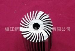 精选热销太阳花铝型材散热器