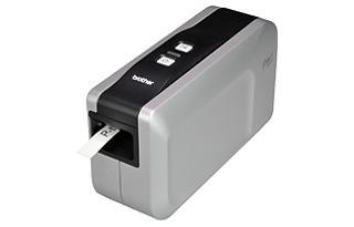 供应超低价兄弟标签机PT-2430PCz驳式电脑标签打印机