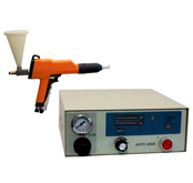 微型静电喷涂机 实验室静电喷粉机 静电喷塑机