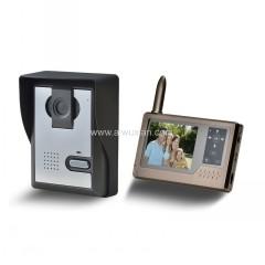 无线可视门铃-无线可视对讲门铃方案