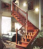 实木楼梯-香格里-巨韵木制品