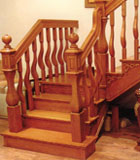 实木楼梯-索非亚-巨韵木制品