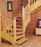 实木楼梯-帕格尼-巨韵木制品