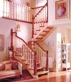 实木楼梯-格里格-巨韵木制品