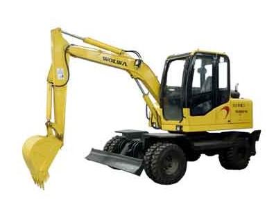 进口配件DLS880-9B 7吨履带式液压挖掘机