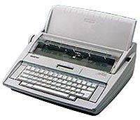 超高性价比兄弟GX-8250打字机键盘保护膜英文打字机