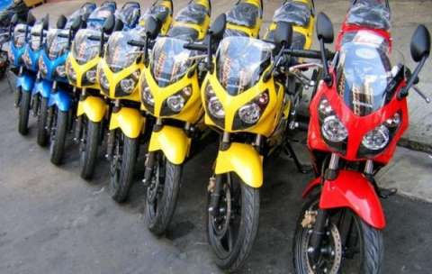 本田CBR150 本田摩托车150 二手摩托车市场