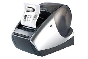 兄弟标签机QL-570热敏电脑标签打印机 普贴趣标签机