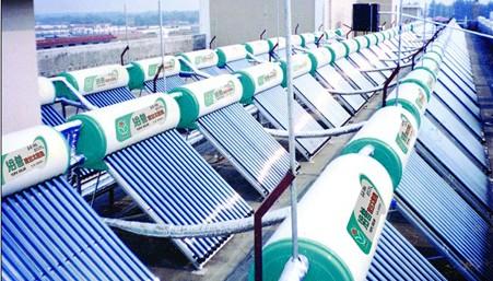 真空管集热器的太阳能热水器工程有哪些优点?