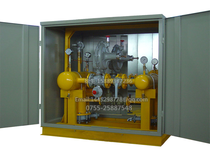 亚威系列燃气调压计量箱
