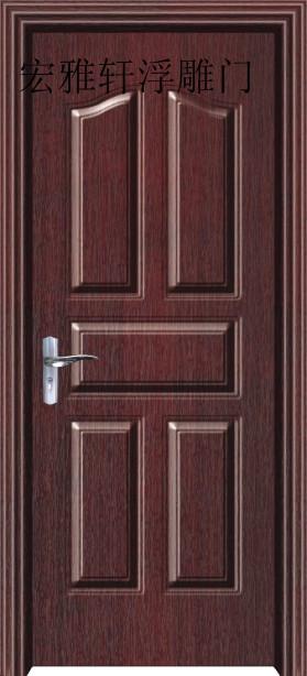广东复合门/强化复合门价格/强化烤漆门工艺结构