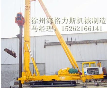 振动沉管碎石桩 振动沉管灌注桩通用施工设备——振动沉管打桩机