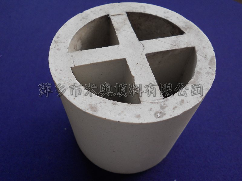 供应陶瓷十字环 Φ80陶瓷十字环价格干燥塔、吸收塔、冷却塔塔填料