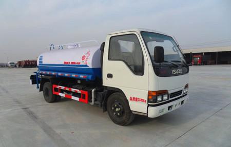 5吨庆铃国四园林绿化洒水车