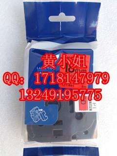 供应兄弟标签色带TZ-441国产三代18mm红底黑字环保覆膜性