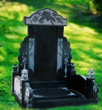中国黑墓碑雕刻汉白玉墓碑雕塑