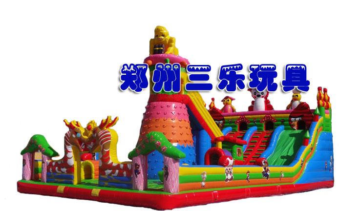 龙宝宝攀岩充气大滑梯/安徽经营儿童充气大型玩具最赚钱