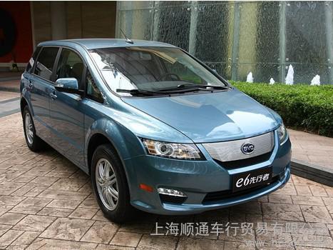 比亚迪电动汽车E6先行者纯电动轿车 电动汽车 老年代步车专卖店