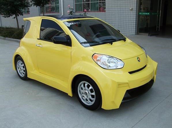广生太阳能电动车GS-DJ01电动轿车 电动代步车 家用代步车专