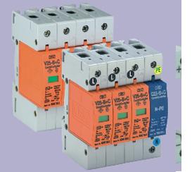 河南OBO防雷器,V25-B+C/3+NPE,加强型一级电源防雷