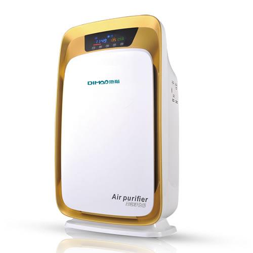 地猫 家用空气净化器 T812 土豪金 除甲醛二手烟降PM2.5