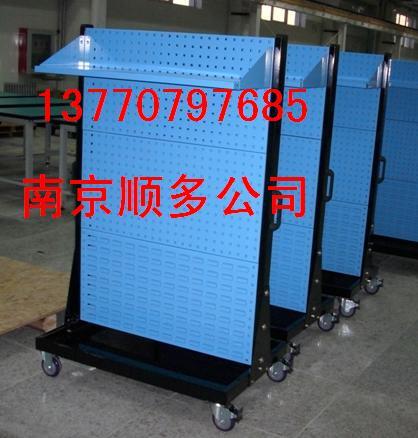 物料整理架,百叶挂板,方孔挂板,双面物料整理架