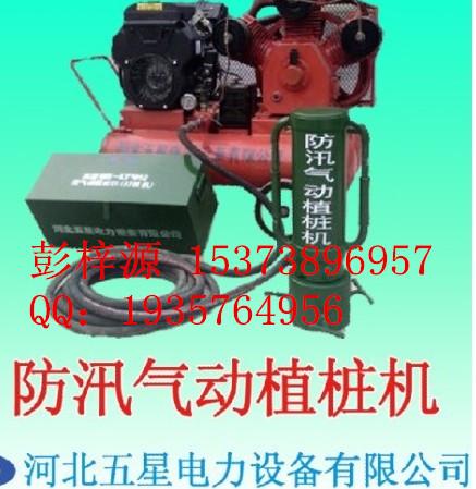 北京打桩机批发怎么卖?五星各类打桩机为抗洪抢险长期提供(图)