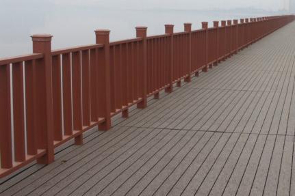 户外木塑栏杆