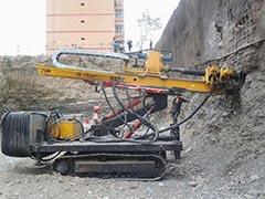 MDL-120D型履带式深基坑锚固钻机