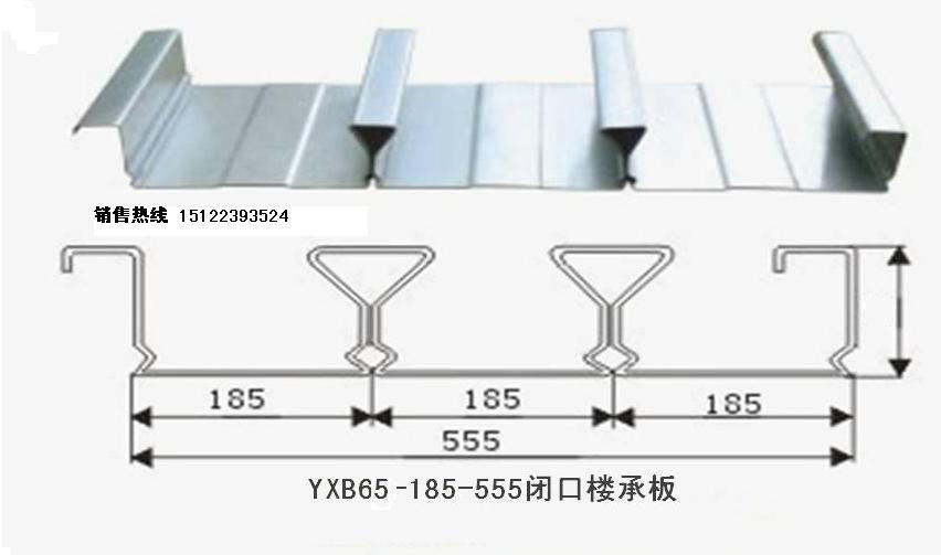 YX65-185-555闭口楼承板