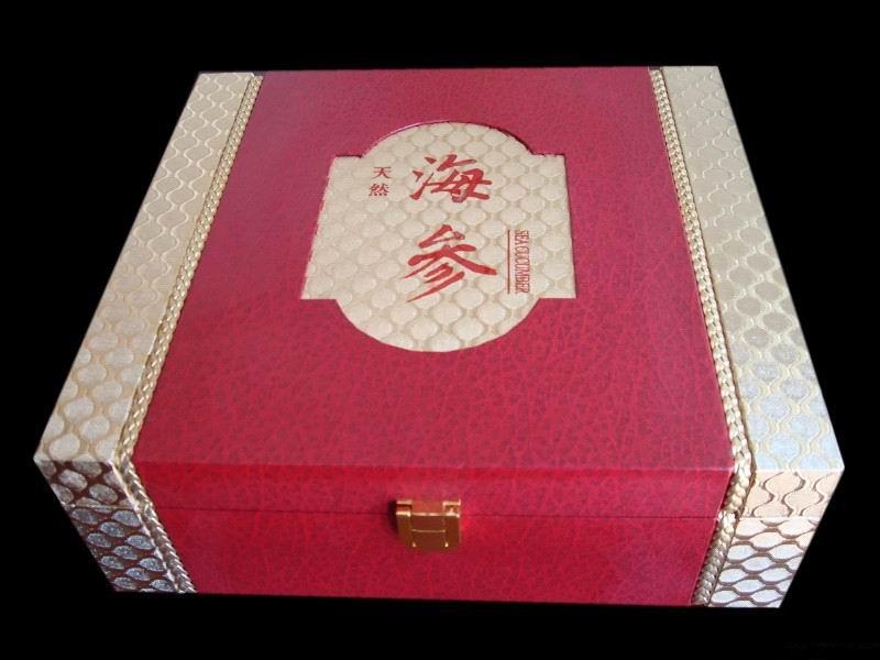 曹县厂家专业生产木制海参盒 海参礼盒