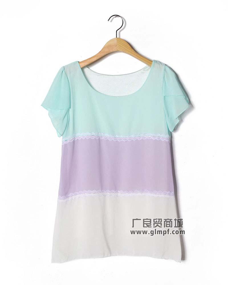 女装批发广州夏装短袖批发广州哪里批发T恤便宜广州哪里有女装T恤批