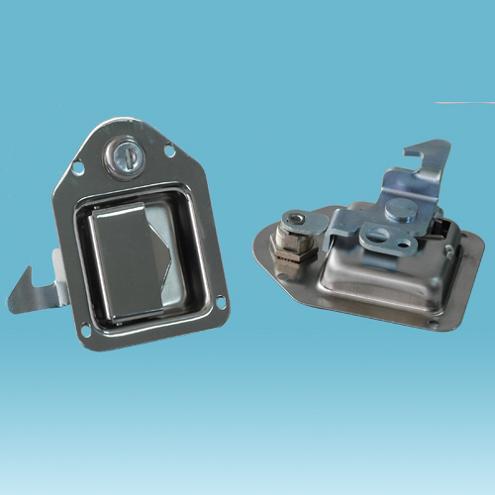 供应各类盒锁 不锈钢盒锁 厢式货车盒锁 车门盒锁