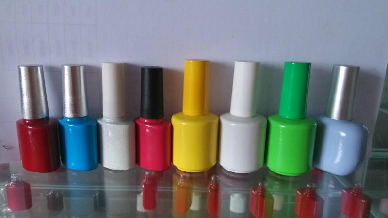 玻璃瓶电镀加工-广州指甲油瓶喷涂丝印烫金-玻璃瓶烤漆加工