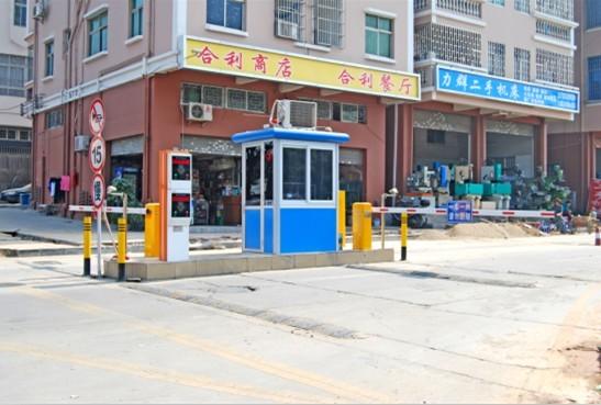 甘肃挡车系统岗亭规格小区临时卡收费管理设备一字闸通道设备安装