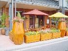 武汉塑木可移动花箱