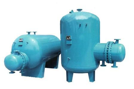 HRV-01系列卧式导流型半容积式水加热器