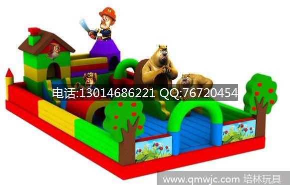 儿童充气城堡玩具丨熊出没充气蹦蹦床