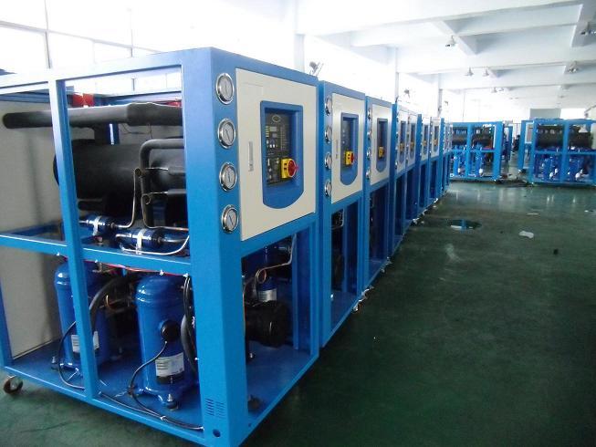 模具专用冷水机,中频电源冷却专用水冷机