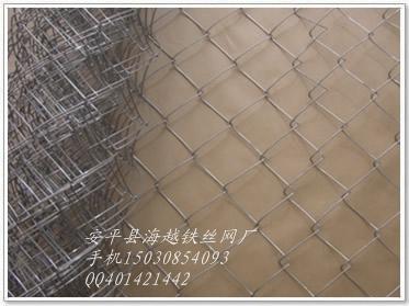 勾花网,菱形网,铁丝网,养殖网 活络网 斜方网 安平县海越勾花网