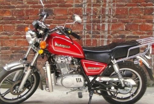 豪爵铃木太子125摩托车价格