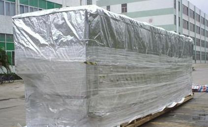东莞出口木箱重型设备防潮防锈真空包装