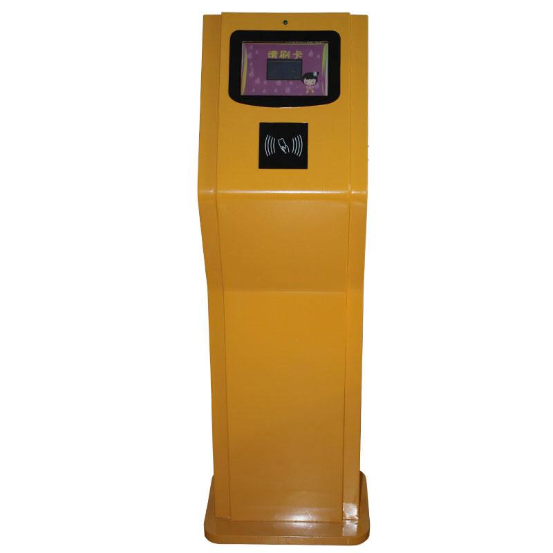新长远 立式3寸多功能幼儿园接送机 考勤机 IC刷卡机 考勤系统