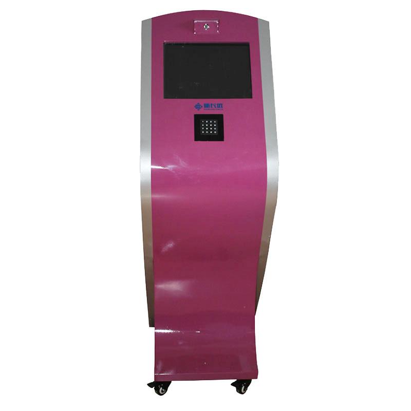 新长远 豪华型立式多功能接送机 指纹安全接送系统 刷卡考勤机