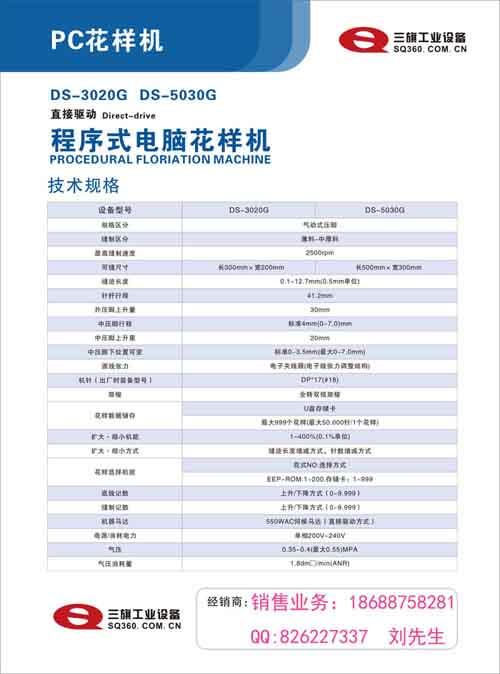 深圳销售电脑花样机3020款刘
