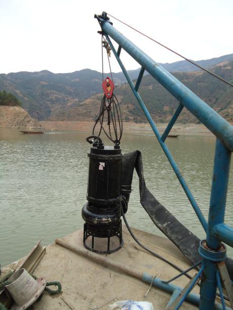 潜水金沙泵,尾矿砂泵,抽海砂泵