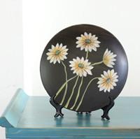 供应景德镇陶瓷瓷盘 工艺礼品瓷盘 家居装饰瓷盘