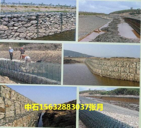 河道防护宾格石笼网 厂家专业生产石笼网